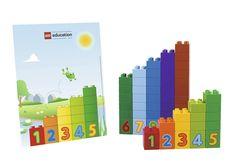 duplo rekenkaarten Lego Duplo, Diy Toys And Games, Block Area, Busy Bags, Activities For Kids, Kindergarten, How To Make, Math Resources, Studying