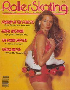 vintage everyday: Roller Skating Magazine, October 1979