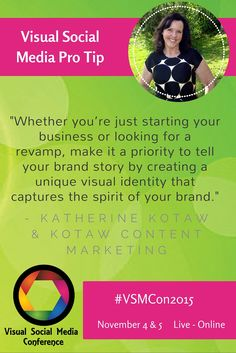 """""""Whether you're just starting your business or looking for a revamp, make it a priority to tell your brand story by creating a unique visual identity that captures the spirit of your brand."""" @kotawcontent"""