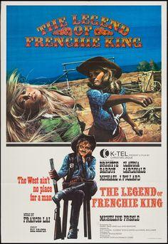 """Frenchie King (1971) """"Les pétroleuses"""" (original title) Stars: Brigitte Bardot, Claudia Cardinale, Michael J. Pollard, Micheline Presle ~ Directors: Christian-Jaque, Guy Casaril"""