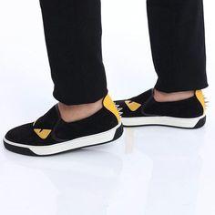 Shop at www.contreboutiques.com  Fendi monster shoes  #fendi #shoes #luxury #style #fashionista #fashion #contreboutiques
