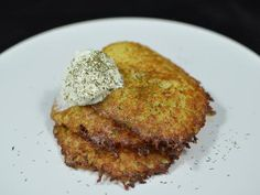 Updated: December 25, 2012  Potato pancakes are very popular in Slavic community, in terms of breakfast. It's a combination of a very few simple ingredients such as potatoes, onion, egg, seasoning and
