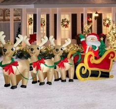 193 best inflatable yard decor images on Pinterest | Christmas deco ...