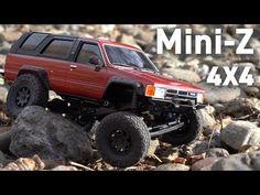 Toyota Crawling: The Kyosho Mini-Z Scale Truck Mini 4x4, Rc Drift Cars, Rc Crawler, Toyota 4runner, Rc Cars, Monster Trucks, Scale, Youtube, Cars