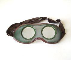 Sicherheit Schutzbrillen Vintage klare Linsen von MerilinsRetro