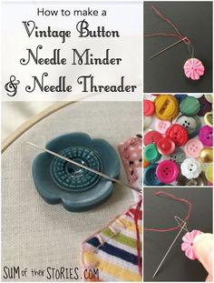 Beading Needle Cases /& Needle Threaders