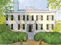 Upper Shirley Plantation by Beth Marchant
