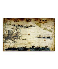 Another great find on #zulily! Octopus Paper Place Mat - Set of 24 by Monahan Papers #zulilyfinds