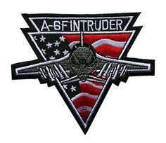 Grumman A-6F Intruder US Air Force USAF Embroidered Iron on Patch