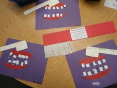 preschool dental health crafts