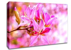Theaeon 8 Flowers Canvas Stretched Canvas