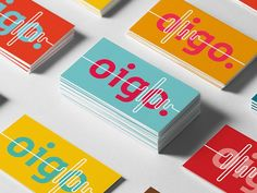 Lucas Saad and Carlos Bauer designed these business cards for Oigo Áudio, a music production studio based in Blumenau, Santa Catarina, Brazil. Business Branding, Business Card Design, Identity Branding, Design Package, Name Card Design, Bussiness Card, Layout Design, Design Cars, Design Design
