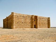 Arquitectura Omeya. Qsar Kharana. Jordania.