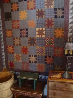 primitive   primitive star quilt done