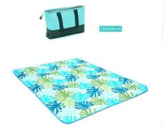 ZHEN Oxford outdoor picnic mat mat increases machine washable mats  2 -- Visit the image link more details.