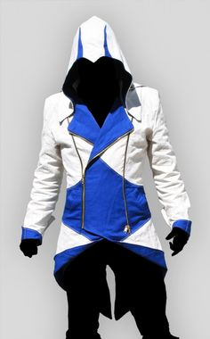 Assassins Creed III Hoodie conner kenway Jacket- Finally found the link again!!!
