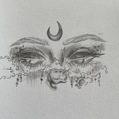 Dark Art Drawings, Art Drawings Sketches Simple, Pencil Art Drawings, Cool Drawings, Arte Sketchbook, Funky Art, Hippie Art, Cartoon Art Styles, Cute Art