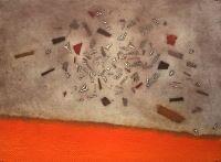 Espace retrouvé, Gravure, du peintre, ARTHUR LUIZ, PIZA, Signée et numérotée au crayon