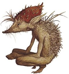 Woodland spirit / faerie folk. Earthy. Brian Froud / Alan Lee.