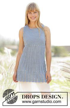 Crochet Peaceful Mind Women's Sleeveless Summer Tunic, Custom Order, Handmade
