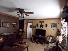 Primitive Country Manufactured Home Decorating - Mobile and Manufactured Home Living