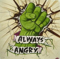 The Avengers Tattoo - Hulk