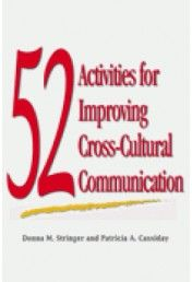 52 Activities for Improving Cross-Cultural Communication #communication #crossculturalcommunication