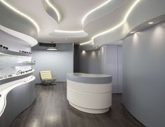 Image 9 of 11 from gallery of Novaoptica Optic Store / Tsou Arquitectos. Photograph by Nelson Garrido Shop Interiors, Office Interiors, 3d Cinema, Cool Store, Store 3, Store Fronts, Retail Design, Store Design, Color Schemes