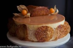 You searched for Tort cu nuca - Lucky Cake Romanian Desserts, Romanian Food, Lucky Cake, Biscuits, Caramel, Something Sweet, Coffee Cake, Food Art, Nutella