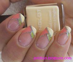 aviDliaN: Chic French Nail Design