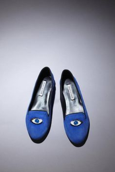 "Eyeball Loafers - Would love a pair of these.  ""Here's looking at ya!."""