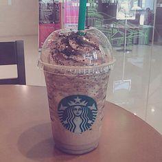 New! Mocha cookie crumble frappuccino @ Starbucks