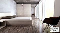 Makuuhuoneen 3D-mallinnus