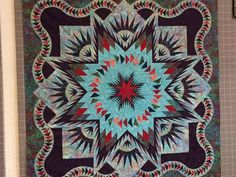 Glacier Star ~Quiltworx.com, made by CI Susan Sears