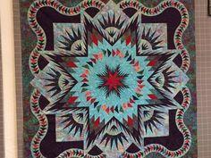 Glacier Star ~Quiltworx.com, made by CI Susan Sears