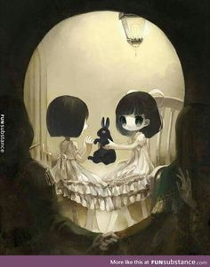 grafika skull, art, and anime Anime Body, Anime Pokemon, Anime Plus, Art Noir, Arte Obscura, Estilo Anime, Arte Horror, Art Et Illustration, Illusion Art
