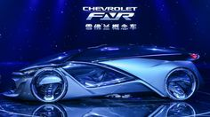 Chevrolet unveils its new FNR concept car in Shanghai