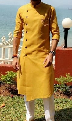In the faddal creations – Shirt Types Mens Indian Wear, Indian Groom Wear, Indian Men Fashion, Mens Fashion Suits, African Fashion, African Men, India Fashion Men, Wedding Kurta For Men, Wedding Dresses Men Indian