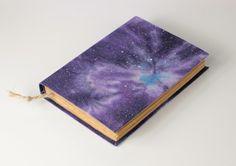 Galaxy Journal Notebook - Media & Music Journal Notebook, Zip Around Wallet, Journey, Space, Music, Gifts, Floor Space, Musica, Musik