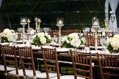 style me pretty - real wedding - usa - virginia - mclean wedding - the groom's parents home - reception decor - table decor