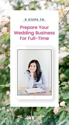 The road to fulltime with your wedding planning business is not an impossible journey! Prepare your wedding business for full-time with these 5 steps. Brought to you by a booked-out planner, #momboss of two, marketing grad. #weddingplanner #weddingphotographer #weddingflorist