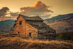 ***Old barn by Alexander Hill (Oliver, BC, Canada)