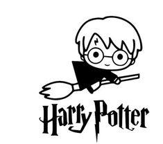 Harry Potter Stencils, Harry Potter Decal, Harry Potter Sketch, Deco Harry Potter, Harry Potter Cartoon, Theme Harry Potter, Harry Potter Drawings, Harry Potter Shirts, Harry Potter Wallpaper