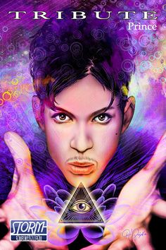 Prince, Prince comic book, Tribute: Prince new comic book released, Storm Entertainment, Blue Water Comics, comic book biographies