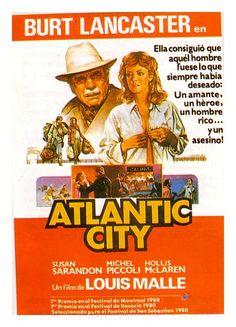Atlantic City. Louis Malle Susan Sarandon & Burt Lancaster.