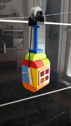 lego challenges for kids: Duplo cable lift - PinsTrends Crafts For Boys, Projects For Kids, Diy And Crafts, Diy Projects, Lego Wedo, Lego Design, Lego Activities, Craft Activities For Kids, Lego For Kids