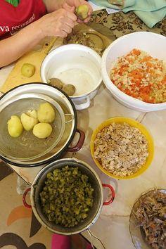 Making Romanian Boeuf Salad