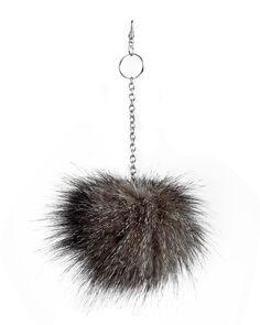 Cute Soft Pom Pom, Fall Fashion Trendy Faux Fur Pompoms, Bag Charm Pendant, Puff Ball Keychain, For Purse, Car Key Ring, Gift, New Trends by WildMarshmallow on Etsy