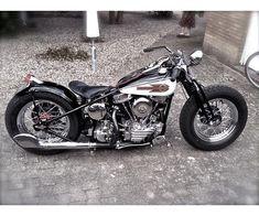 Harley-Davidson, Panhead, 1200 ccm, 1955, 0 km, m.afgift #harleydavidsonpanhead #harleydavidsonmotorcycles