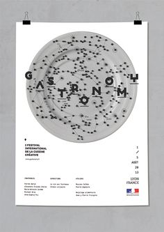 Gastronomy poster  Fran Alonso.  SPAIN.  2013 Lyon, Spain, Chart, Graphic Design, Poster, Posters, Billboard, Visual Communication